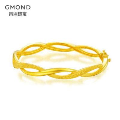 吉盟珠宝-两心环绕黄