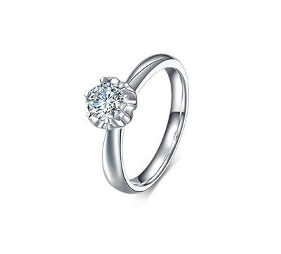 金嘉利爱慕钻石戒指