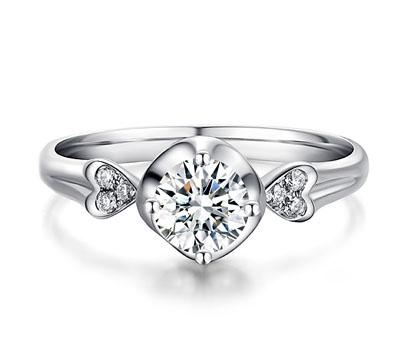 金嘉利心相印钻石戒指