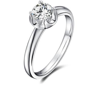 金嘉利花蕾钻石戒指
